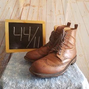 Blackstone Leather Boots Size 44 Bark